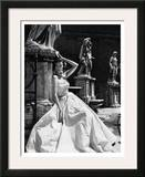 Evening Gown, Colosseo, Roma 1952 Print by Genevieve Naylor