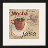 Mocha Java Prints by Paige Davis
