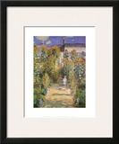 Garden at Vetheuil, c.1881 Prints by Claude Monet