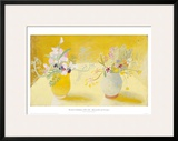 Honeysuckle & Sweetpeas Print by Winifred Nicholson