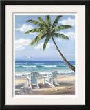 Hidden Beach Posters by Sung Kim