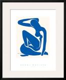 Nu azul Posters por Henri Matisse