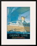 Orcades, Orient Line to Australia, c.1948 Posters