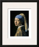 Girl with a Pearl Earring Prints by Jan Vermeer