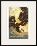 Berner Oberland Prints by Heinrich Berann