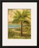 Island Palm II Art by Ron Jenkins