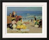 Family Outing Print by Edward Henry Potthast