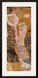 Serpentes d'água I, cerca de 1907 Posters por Gustav Klimt