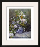 Grande Vaso di Fiori Posters by Pierre-Auguste Renoir