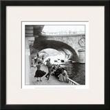 Rock 'n' Roll sur les Quais de Paris Art by Paul Almasy