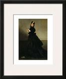 Lady with a Glove, Madame Carolus-Duran nee Pauline Croizette, c.1869 Art by Charles Émile Carolus-Duran
