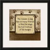 Dog Wags Tail Prints by Jennifer Pugh
