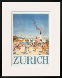 Zurich Posters by Otto Baumberger