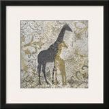 Giraffes Exotiques Prints by Katrina Craven