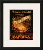 Paprika Posters by Pamela Gladding