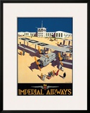 Imperial Airways City of Wellington Prints by Harold Mccready
