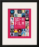 Sci-Fi Film Alphabet - A to Z Posters by Stephen Wildish