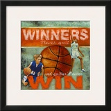 Winners: Basketball Prints by Robert Downs
