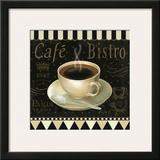 Cafe Parisien IV Posters by Daphne Brissonnet