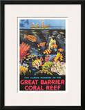 Great Barrier Coral Reef c.1933 Posters by Frederick Phillips