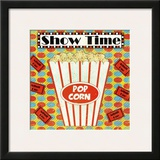 Show Time Poster by Louise Carey