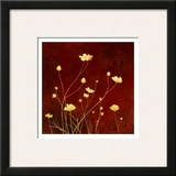 Flores en el Campo I Prints by  Clunia