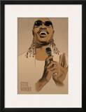 Stevie Wonder Art by Clifford Faust