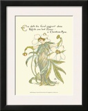 Shakespeare's Garden XII (Christmas Rose) Print by Walter Crane