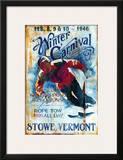 Ski Stowe Posters