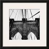 Brooklyn Bridge II Poster by Nicholas Biscardi