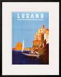 Lugano Prints by Daniele Buzzi