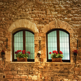 Twins, Assisi Photographic Print by Dolores Smart