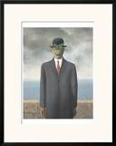 Le Fils de L'Homme (Son of Man) Posters by Rene Magritte