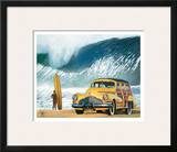 Buttercup Buick Prints by Scott Westmoreland