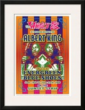 Albert King Whisky-A-Go-Go Los Angeles, c.1968 Print by Dennis Loren