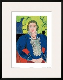 La Blouse Bleue, c.1936 Prints by Henri Matisse