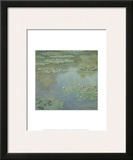 Waterlilies II 1907 Posters by Claude Monet