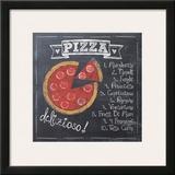 Pizza Posters by Jo Moulton