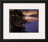 Canoe at the Cabin Prints by Ervin Molnar