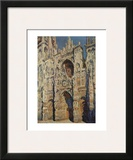 The Portal and the Tour d'Albane in the Sunlight, c.1984 Prints by Claude Monet
