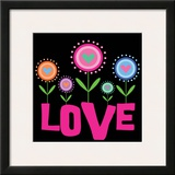Love Flower Prints by Louise Carey
