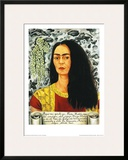 Self-Portait with Loose Hair - 1947 Prints by Frida Kahlo