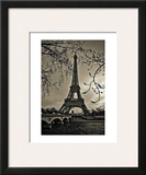 Curves of Eiffel Poster by Sabri Irmak