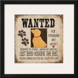 Wanted Print by Jo Moulton