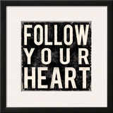 Follow Your Heart Prints by Louise Carey