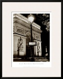 Place Charles de Gaulle Print by Clay Davidson
