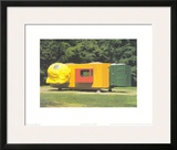 Mobile Home for Kroller Muller, c.1995 Poster by Joep Van Lieshout