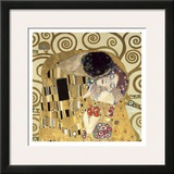 The Kiss (detail) Prints by Gustav Klimt