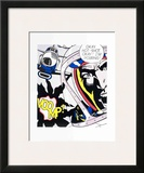 Okay, Hot-Shot! Poster by Roy Lichtenstein