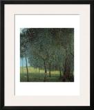 Fruit Trees Framed Giclee Print by Gustav Klimt